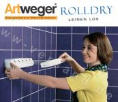 Artweger RollDry weiss ausziehbare Wäscheleine Wandtrockner Wäschetrockner