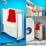 RUCO V217 Wäschesammler Wäschebox Nischenwagen Wäschewagen
