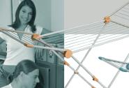 Artweger TopDry Mini - apricot/weiss Flügeltrockner Standtrockner