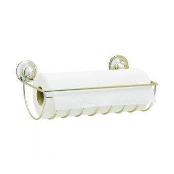 EVERLOC EL 10100 UNIVERSAL Papierrollenhalter Zewa oder Tiolettenpapier OHNE Bohren und Schrauben