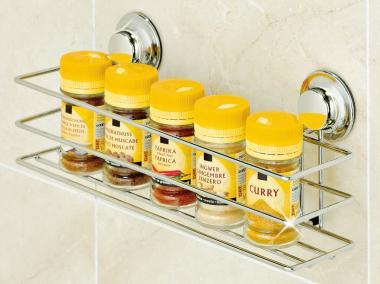 EVERLOC EL 10104 Allzweckablage Universalablage für Bad Küche OHNE Bohren & Schrauben