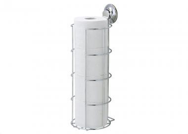 EVERLOC EL 10216 Toilettenpapierrollenhalter Reserve für Toilettenpapier OHNE Bohren und Schrauben