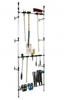 Ruco V959 Teleskop - Gartenregal ideal für Gartengeräte