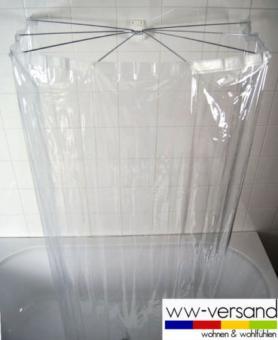 Ridder Ersatzduschvorhang kristall f. Ombrella