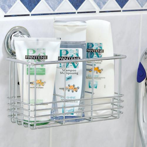 EVERLOC EL 10101 Allzweckregal Korb für Küche Bad Dusche OHNE Bohren & Schrauben