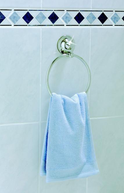 EVERLOC EL 10239 UNIVERSAL Gürtel und Handtuchhalter Bad oder Küche OHNE Bohren und Schrauben