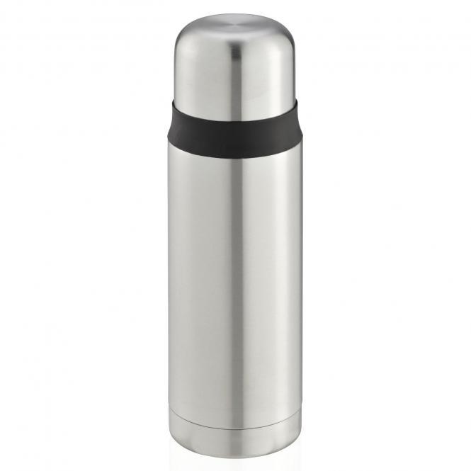 Leifheit hochwertige Isolierflasche Coco 0,5L Isolierflasche Thermosflasche Kaffeekanne Edelstahl 0,5 l