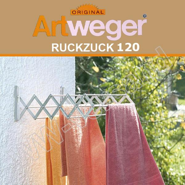ARTWEGER Ruckzuck 120 Scherentrockner Wäscheständer Wäschetrockner