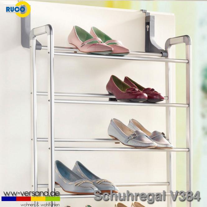 RUCO V384 Schuhregal für Tür / Wand / Boden