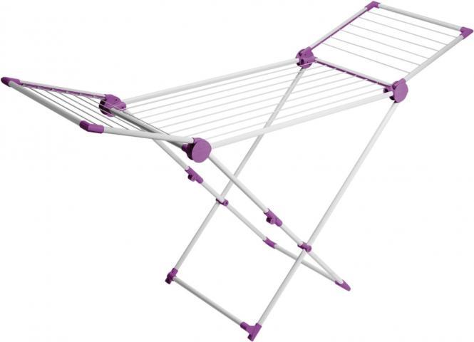 Artweger SUPERDry Maxi - flieder/weiß Flügeltrockner Standtrockner Wäscheständer